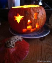 Jack-o-lantern donker