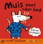Muis gaat naar bed