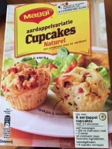 Aardappelcupcakes