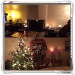 Overzicht kerst in huis