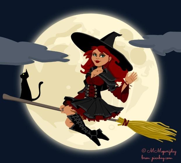 Volle maan, heks