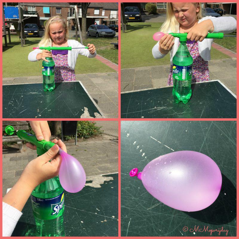 Waterballonnen vullen