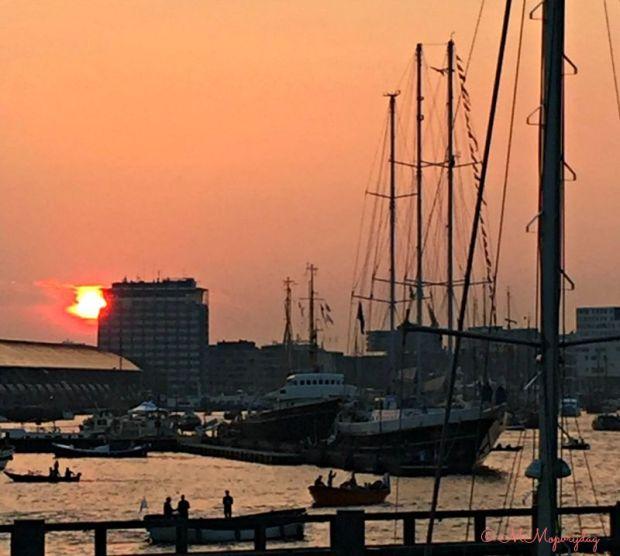 zonsondergang Sail