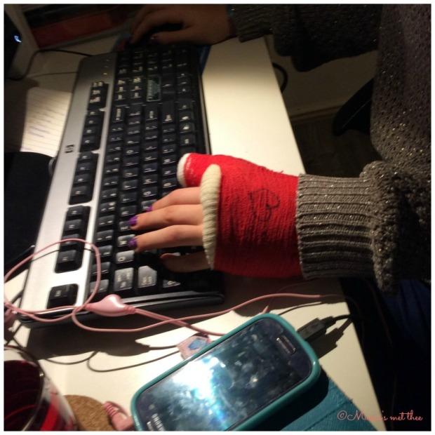 met 1 hand