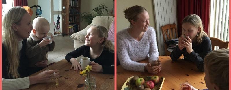 Marijke en Hanneke