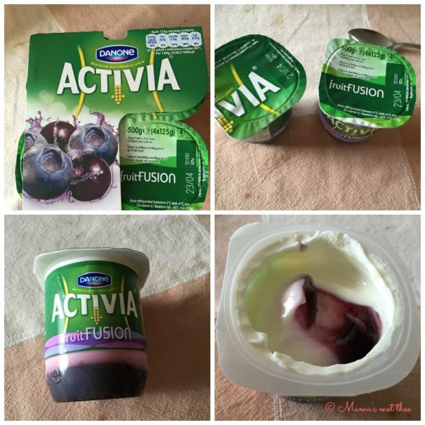 Activia Fruit Fusion Bosbes Acaibes