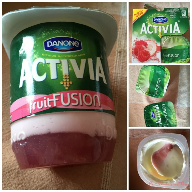 Activia Fruit fusion Framboos Lychee