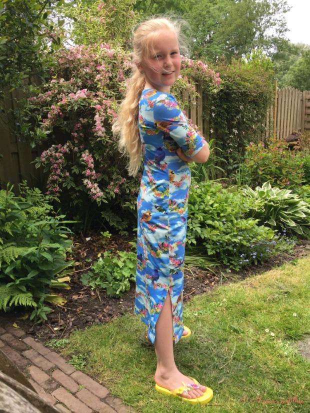 Maxi jurk Ninie.nl