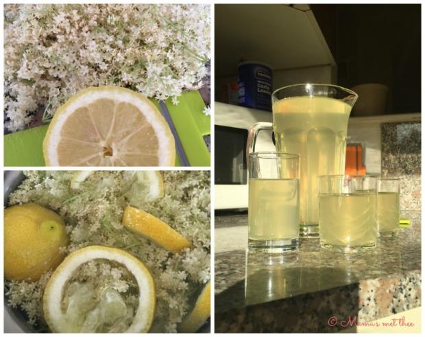 Vlierbloesem limonade