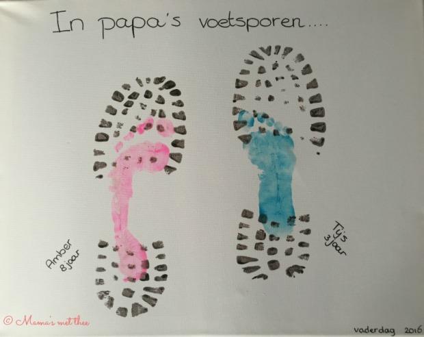 In papa's voetsporen