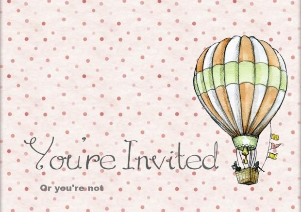Je bent uitgenodigd, of niet