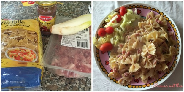 Pasta Pesto Radicchio e Speck Grand Italia