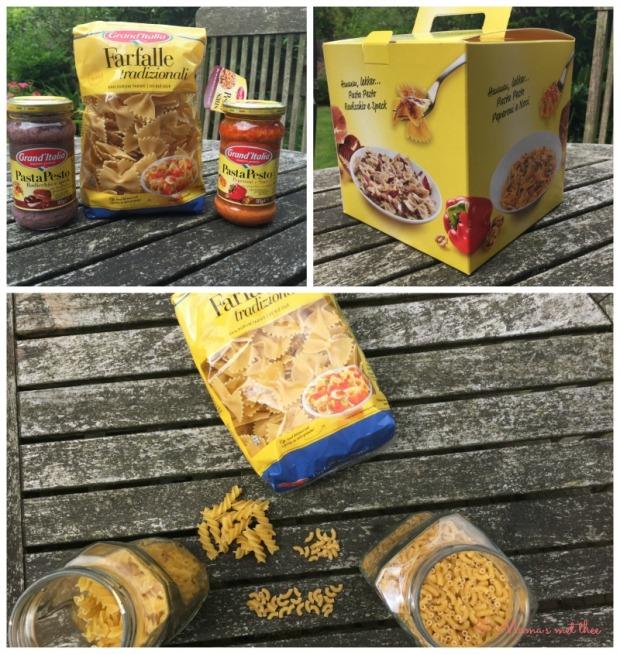 Varieren met pasta Grand Italia