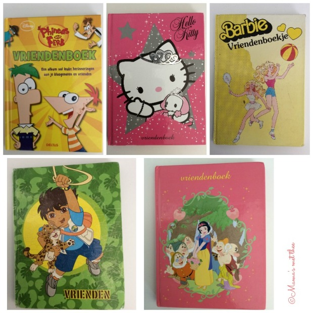 vriendenboekjes