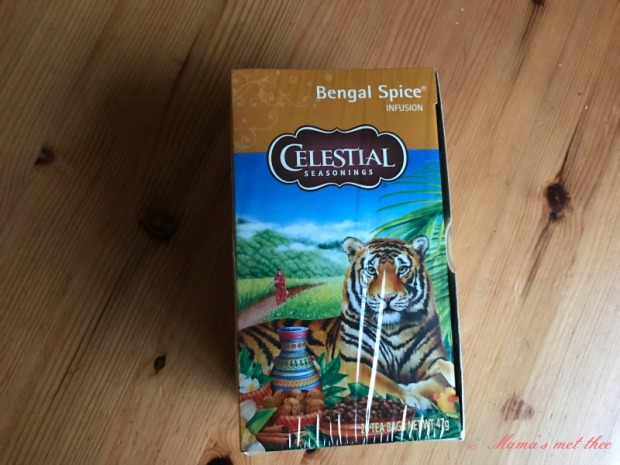 Celestial seasonings Winter spices Bengal Spice