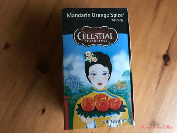 Celestial seasonings Winter spices Mandarin Orange Spice