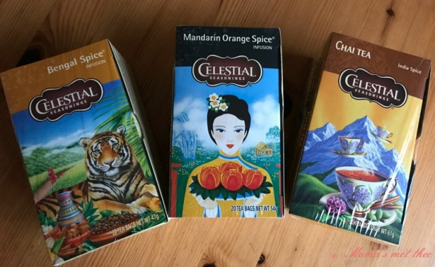 Celestial seasonings Winter spices
