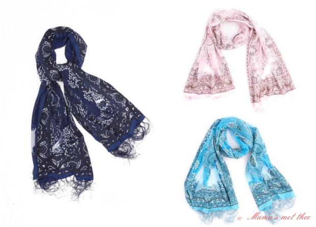 Girly Stuff favoriete shawls