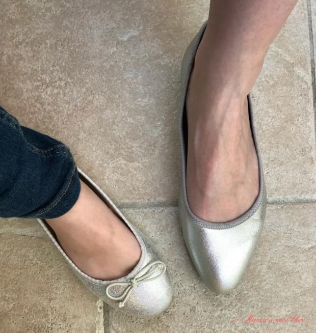 Twinning met ballerinas