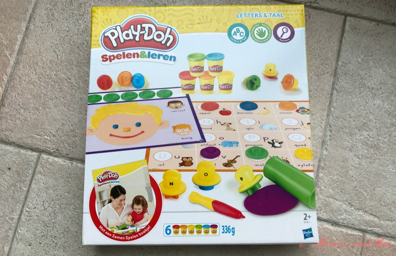 Play-Doh Spelen en leren_Letters en taal